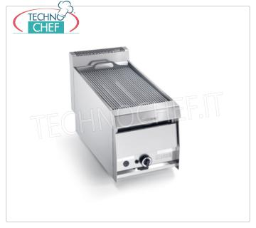 Version GRILL VAPOR GAS TOP, 1 module - ARRIS - Série 900 Version GRILL VAPOR GAS TOP, 1 MODULE avec surface de cuisson de 390x670 mm, complète avec réseau de barreaux, puissance thermique de 13,0 kW, poids 57 kg, dimensions extérieures 420x900x440h mm