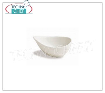 GOBELET DROP FINGER, Collection Mini Party Ivoire, Marque TOGNANA DROP BOWL, Collection Mini Party Ivoire, 11x8 cm, h.5, Marque TOGNANA - Disponible en paquets de 8 pièces
