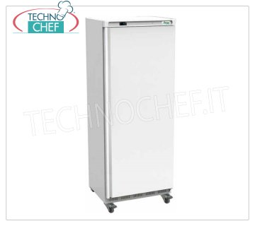 Forcar - 1 Door Fridge Cabinet, lt.641, Ventilated, Temp. + 2 ° / + 8 ° C, Class C, model G-ER700 Armoire de réfrigération 1 porte, Professional, structure externe en tôle blanche, interne en ABS, lt.641, Temp. + 2 ° / + 8 ° C, ÉCOLOGIQUE en Classe C, Gaz R600a, Ventilé, V.230 / 1, Kw. 0,3, poids 105 Kg, dim.mm.777x730x1895h