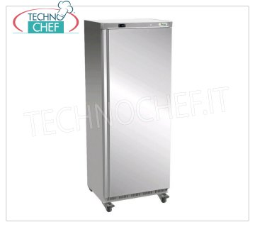 Forcar - 1 Door Fridge Cabinet, lt.641, Ventilated, Temp. + 2 ° / + 8 ° C, Class C, model G-ER700SS Armoire réfrigérée 1 porte, Professional, structure externe en acier inoxydable 430, interne en ABS, lt.641, Temp. + 2 ° / + 8 ° C, ÉCOLOGIQUE en Classe C, Gaz R600a, Ventilé, V.230 / 1, Kw .0,3, Poids 105 Kg, dim.mm.777x730x1895h