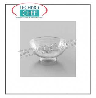 Fête - Happy Hour BOWL, Finger Food Line, polystyrène transparent unidose, CC.64 - Paquet de 10 pièces