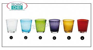 Verres pour bar - Disco VERRE À EAU TRANSPARENT, Collection Bollicine